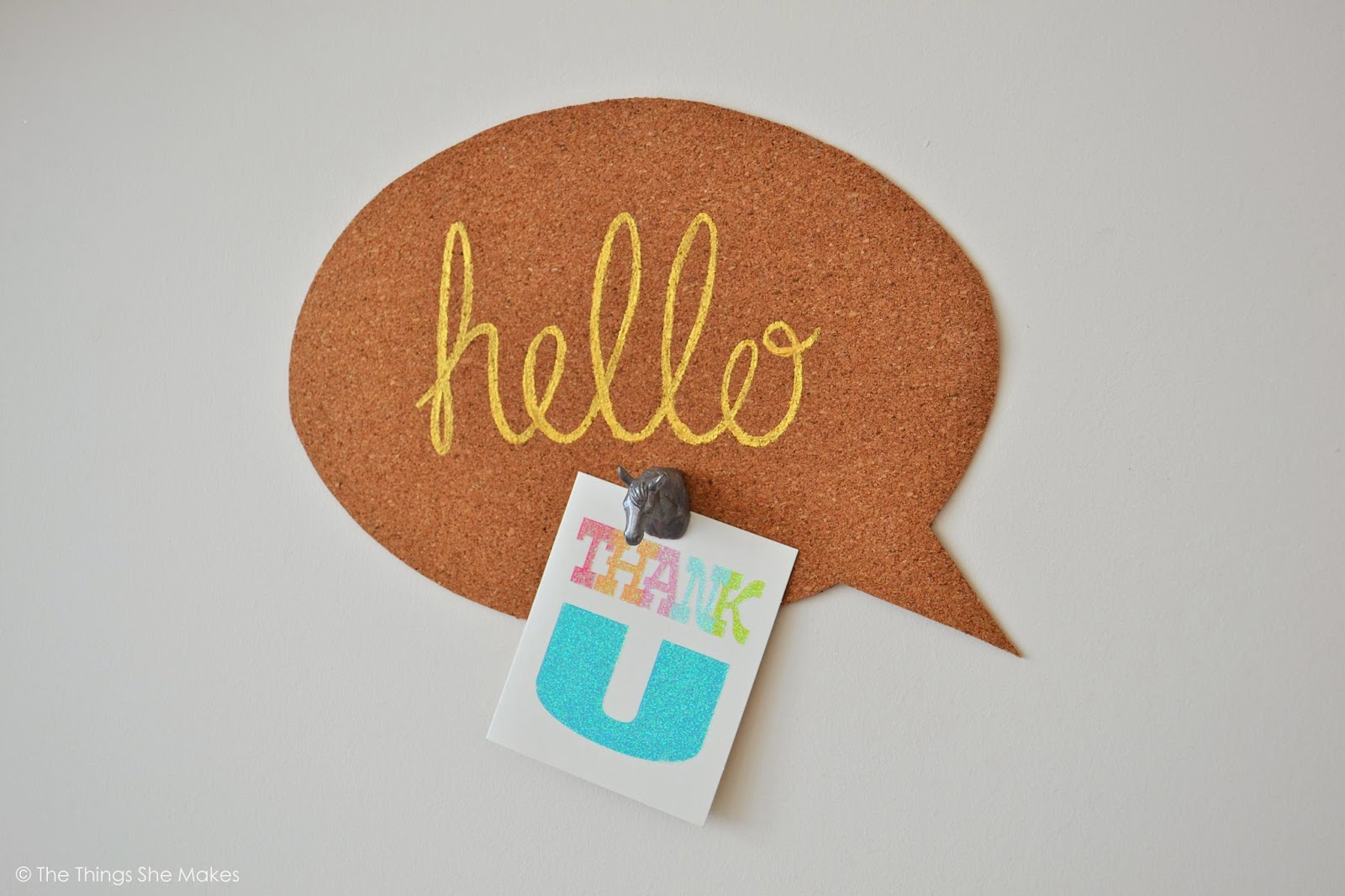 speech bubble noticeboard