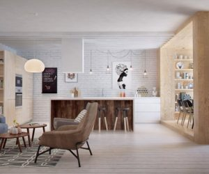 Eclectic Apartment Design Proposes A Fresh New Style