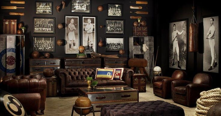50 tips and ideas for a successful man cave decor for Home decor uk sheffield