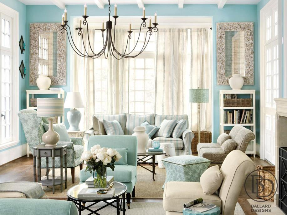 traditional blue paint living room tiffany style. Discovering Tiffany Blue Paint in 20 Beautiful Ways