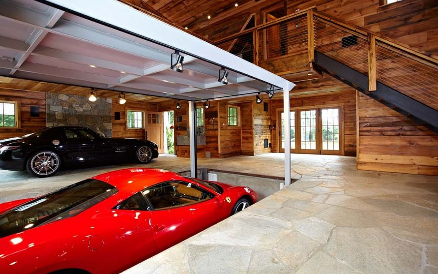 collector car garage ideas - 50 Tips and Ideas For a Successful Man Cave Decor