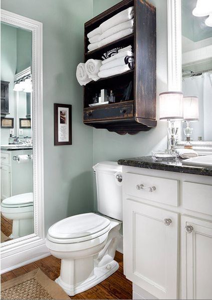 vintage-cabinet-above-the-toilet