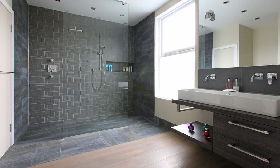 Gray Bathroom Ideas Interior Design ~ Cool and sophisticated designs for gray bathrooms