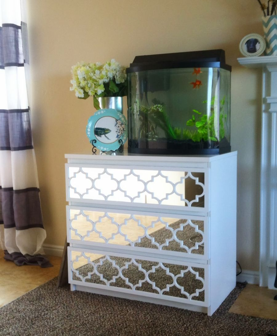 white-mirrored-ikea-dresser