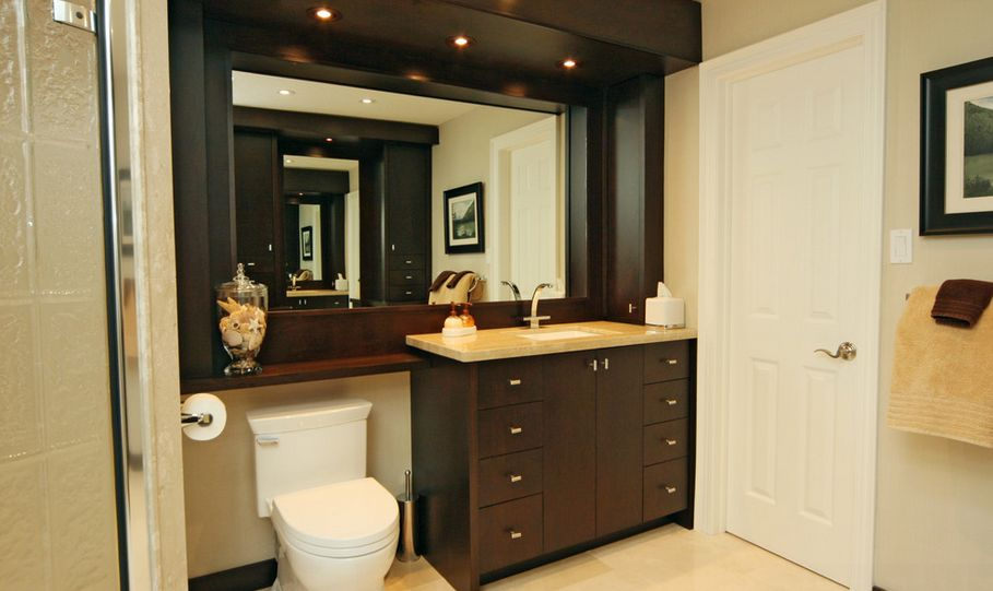 Bathroom Cabinets Above Toilet over the toilet storage and design options for small bathrooms