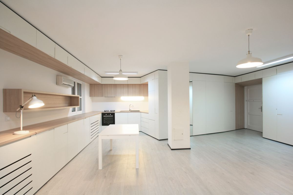 Zagreb Apartment Kitchen And Dining Areas
