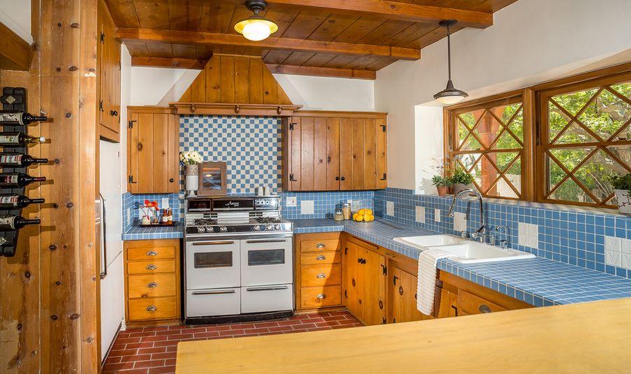 Aqua Blue Countertop Tiles