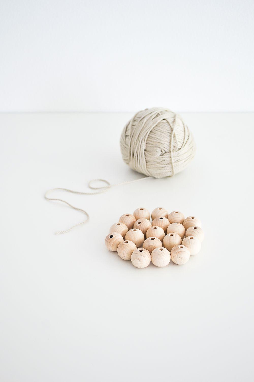 Arrange the beads
