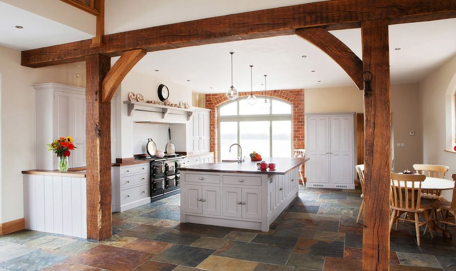 Barn Conversion Kitchen Floor