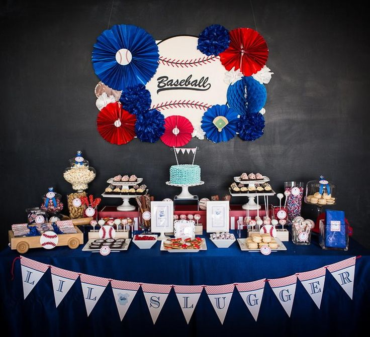 Beautiful Baseball Baby Boy Shower Theme