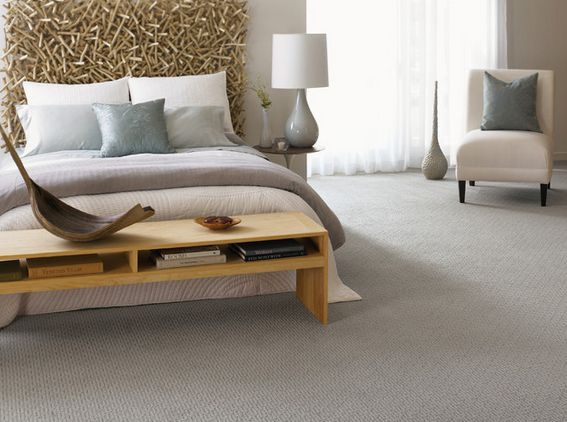 Bedroom carpet shape