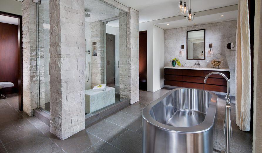 Rustic Bathroom Tub Ideas