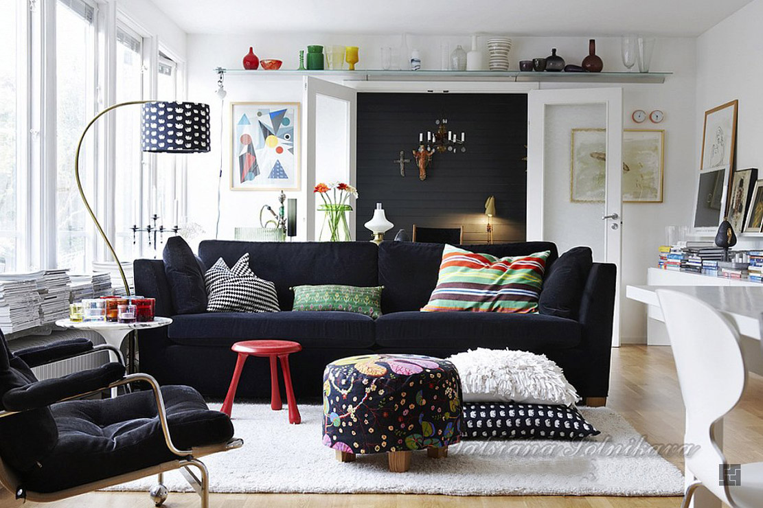 How to mix scandinavian designs with what you already have inside - Small spaces decorating ideas concept ...