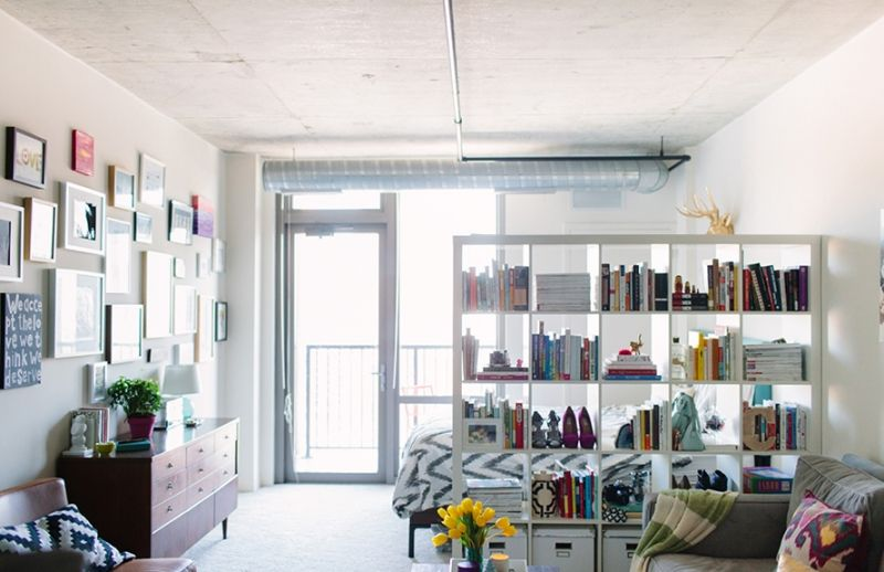 Studio Apartment Decor Part - 45: Cait Weingartner Chicago Studio Apartment