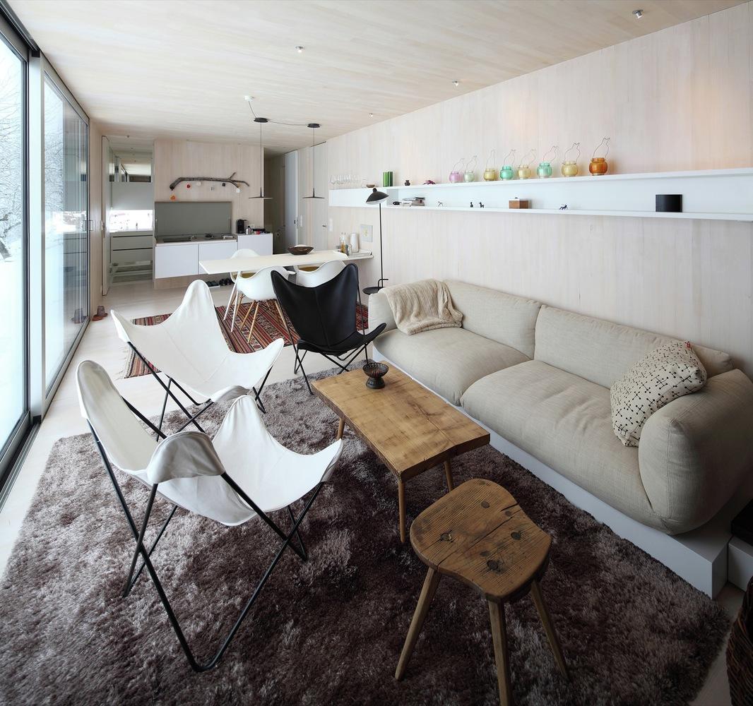 Casa Invisible concept living area