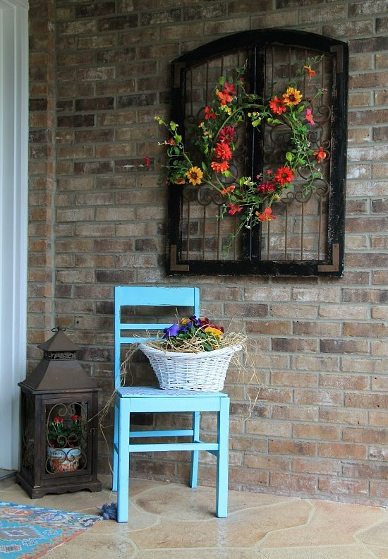 Perfect Charming Rustic Outdoor Wall Decor