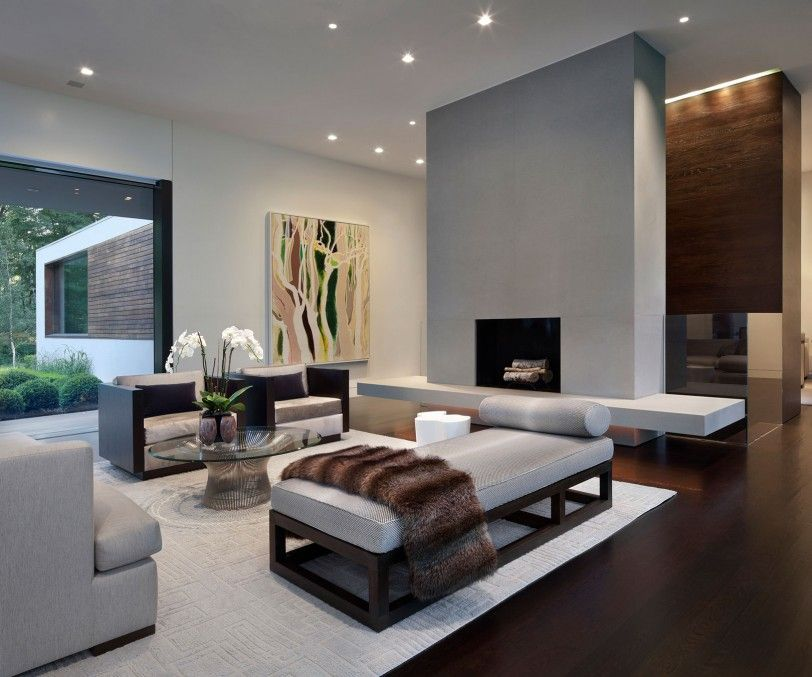 Chic interior design with sleek lines 20 Ranch Style Homes With Modern Interior