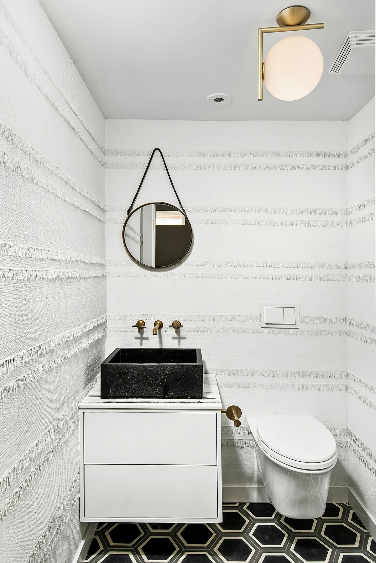 Church Conversion into a Residence Powder Room