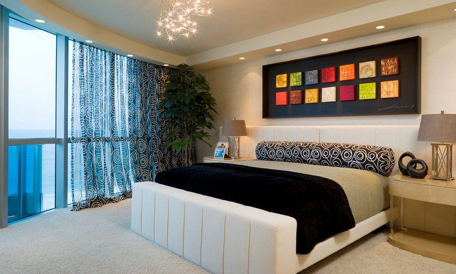 Bedroom Artwork Above Bed