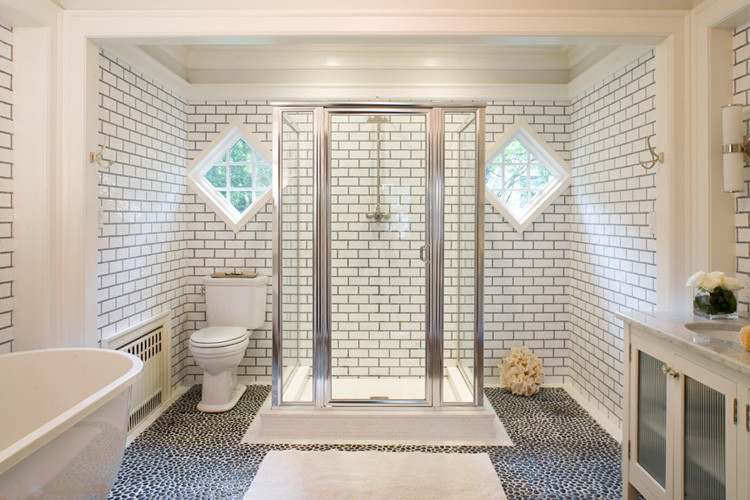 Bathroom Tiles Horizontal gorgeous variations on laying subway tile
