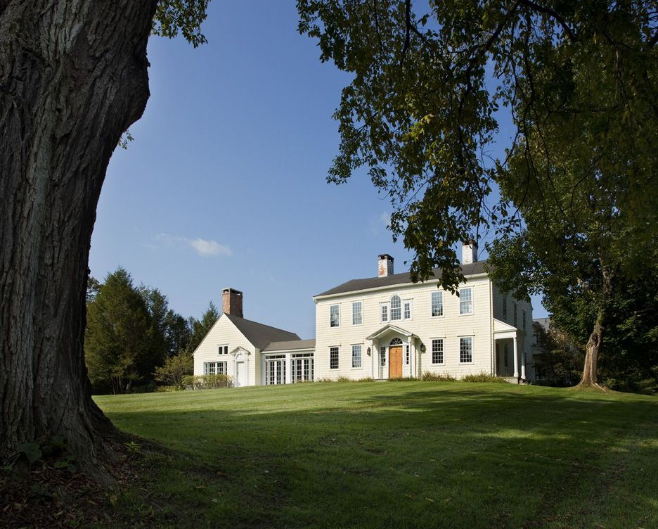 Featured in numerous magazines, this Connecticut farmhouse was a recent project for Henderson.