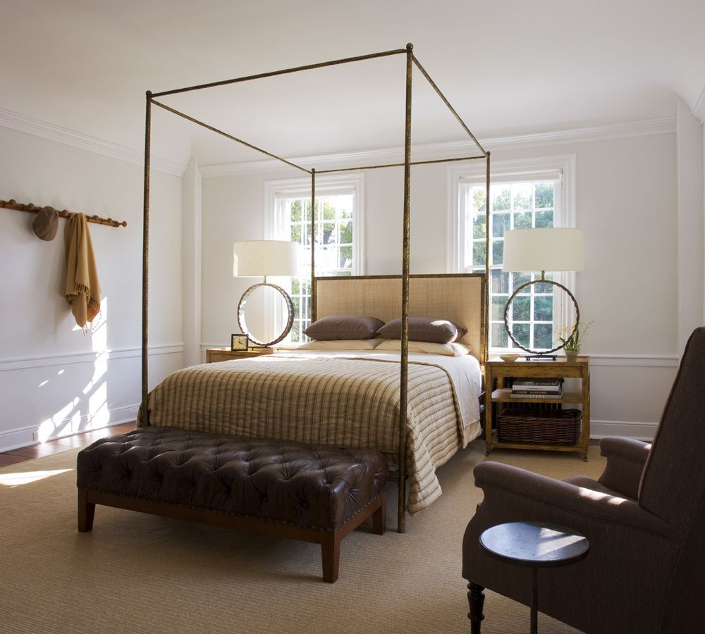 A second bedroom exudes comfort and simplicity