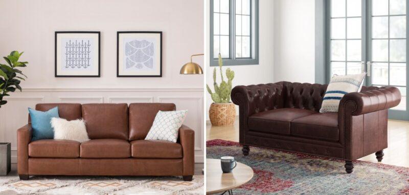 23 Italian Leather Sofas And Their Versatile Designs