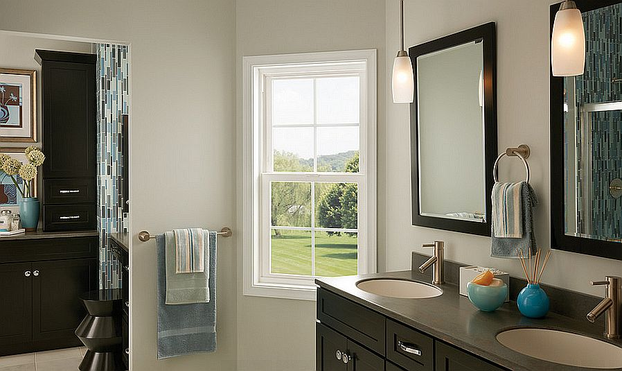 Corner single Hung Window