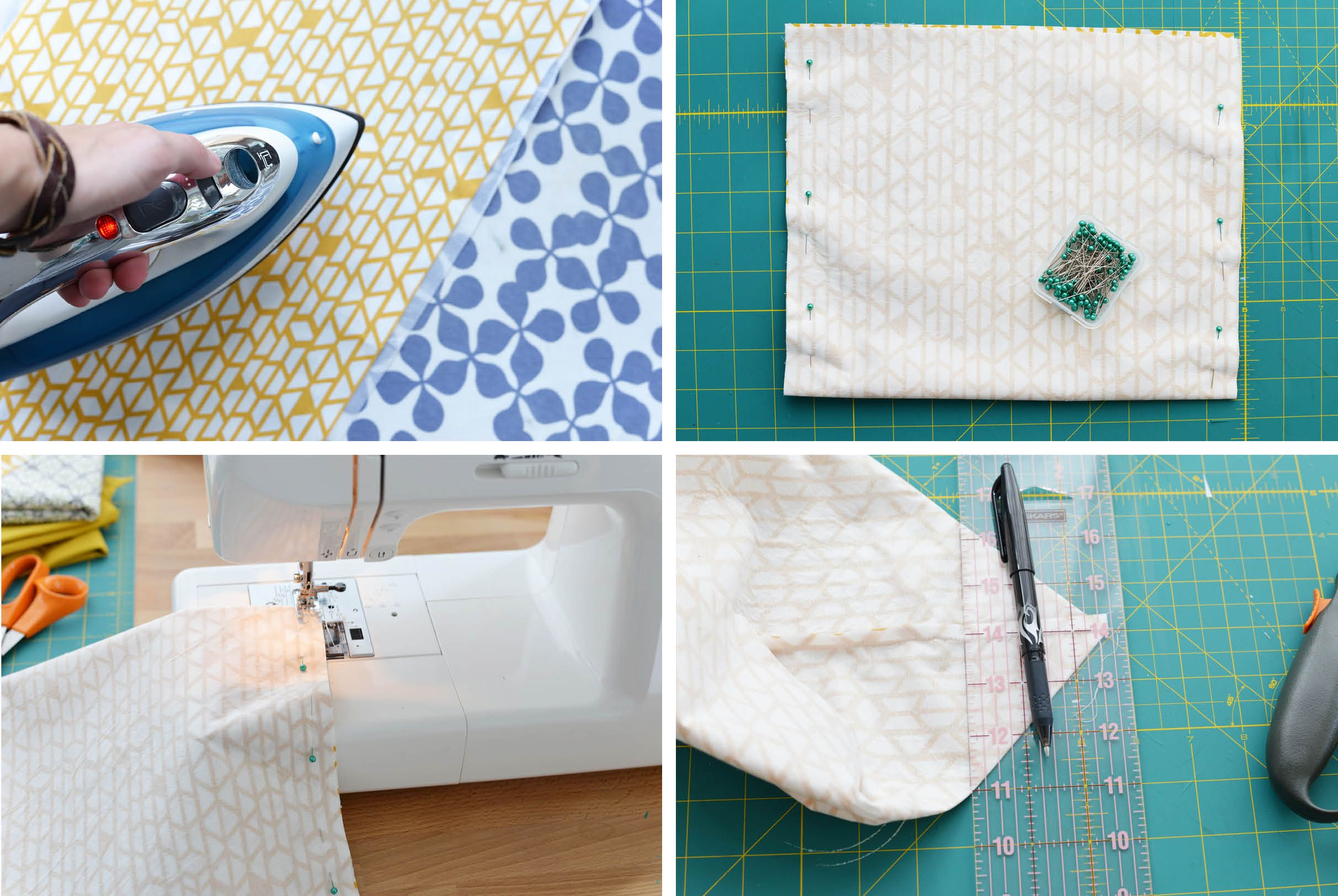 DIY Fabric Basket Step 2