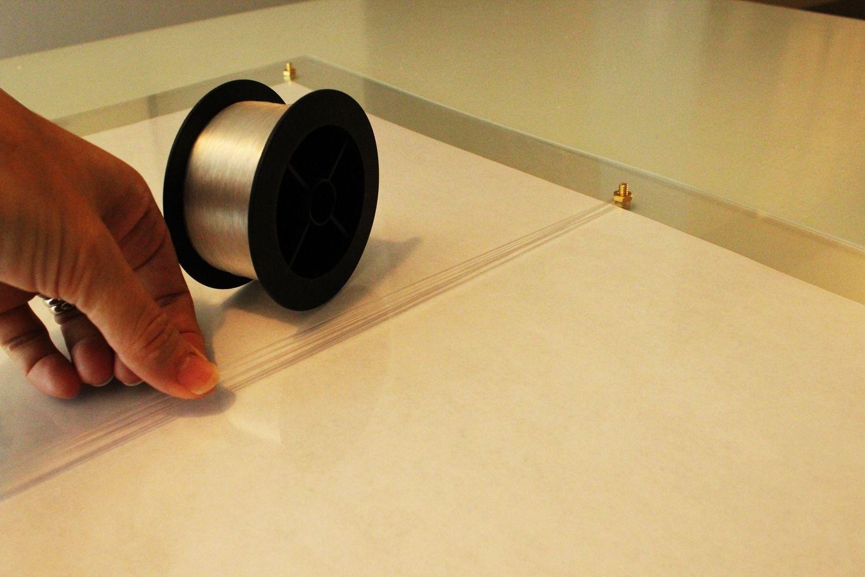 DIY Faux Lucite Frame Nile Wrap