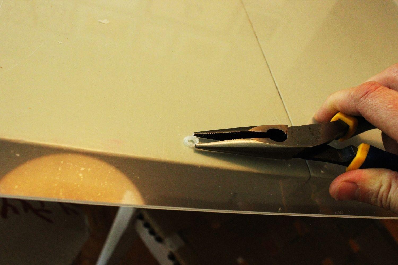 DIY Faux Lucite Frame Pliers