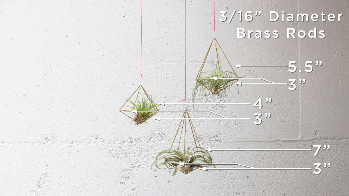 DIY Geometric Planters Dim