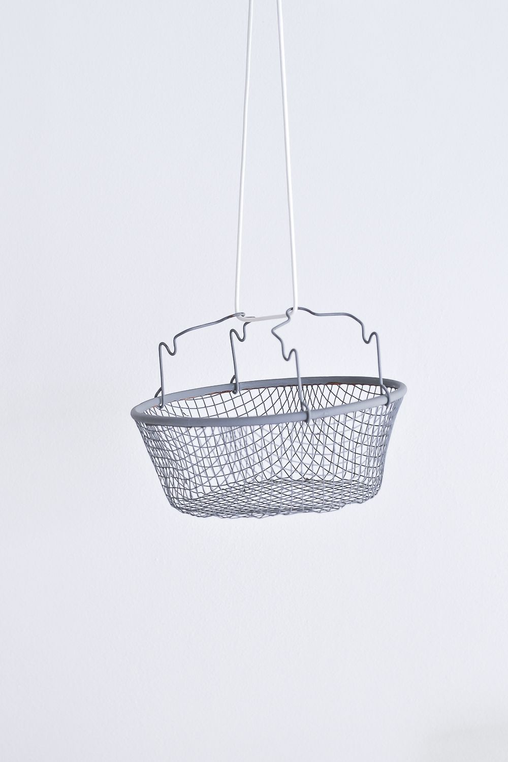 DIY Hanging fruit basket empty