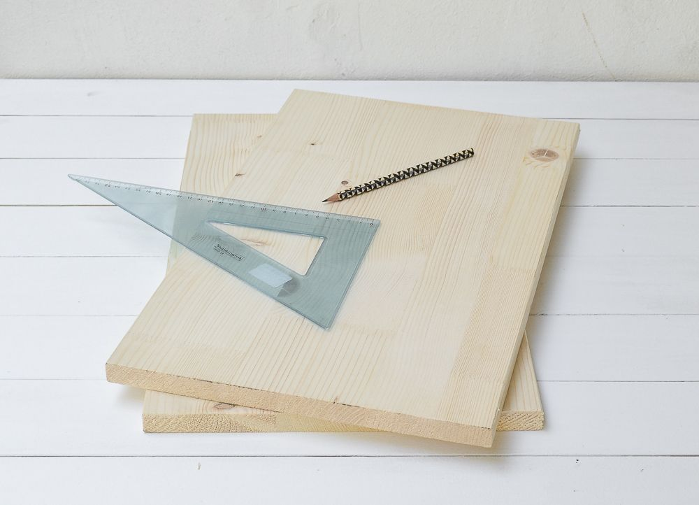 DIY Wooden Magazine Holder Step1