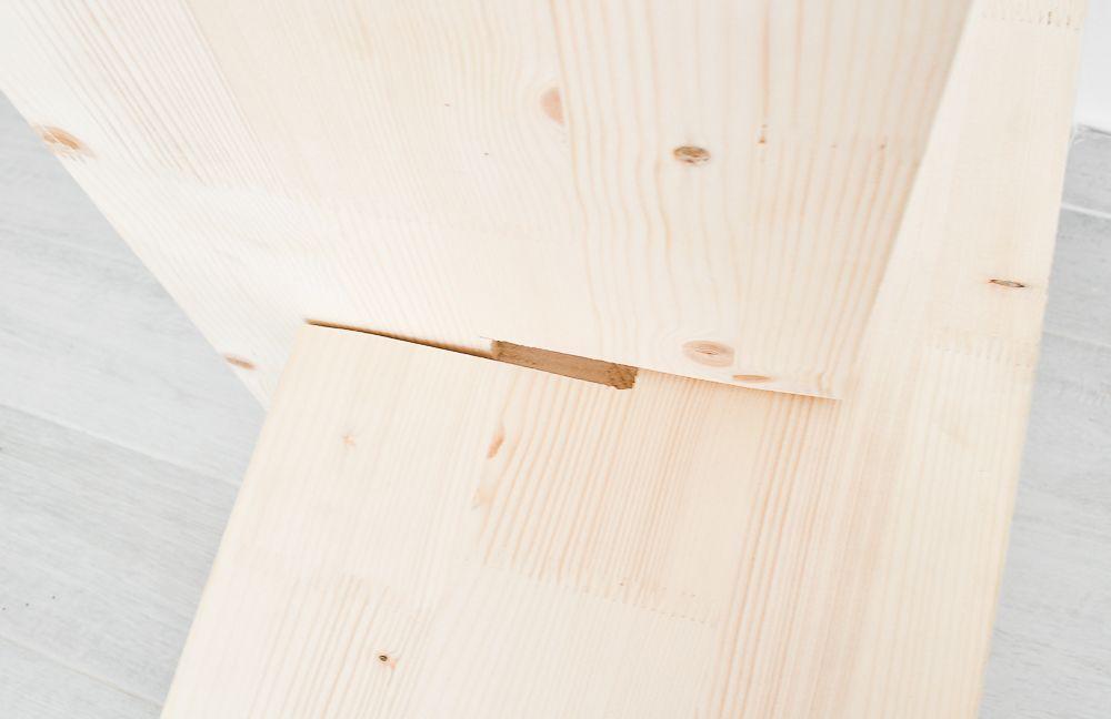 DIY Wooden Magazine Holder Step6