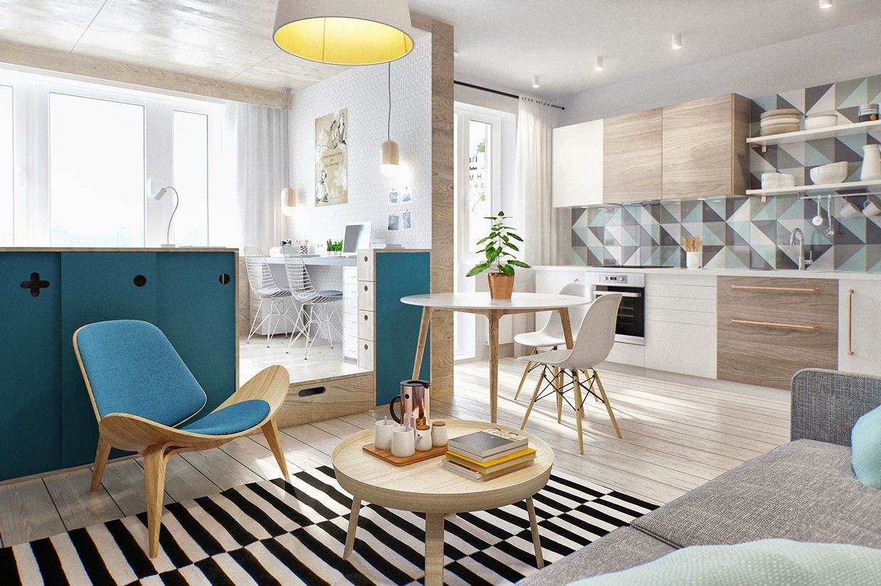 Small Efficiency Apartment Fascinating 10 Efficiency Apartments That Stand Out For All The Good Reasons Decorating Design