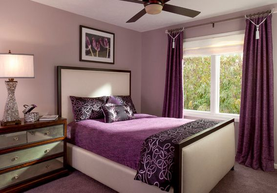 Dream teenage purple bedroom
