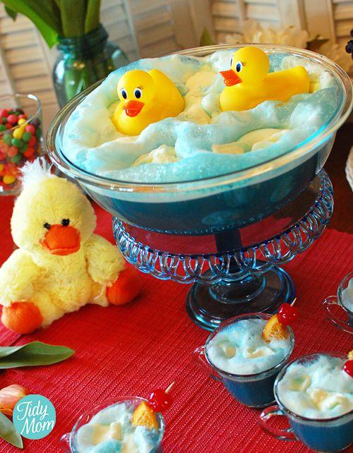 Ducky Punch-Baby-Dusche