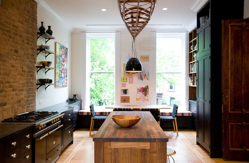 Eclectic interior designs kitchen