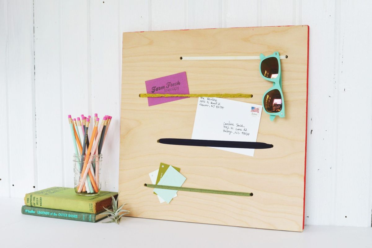 Elastic Memo Board Back to School