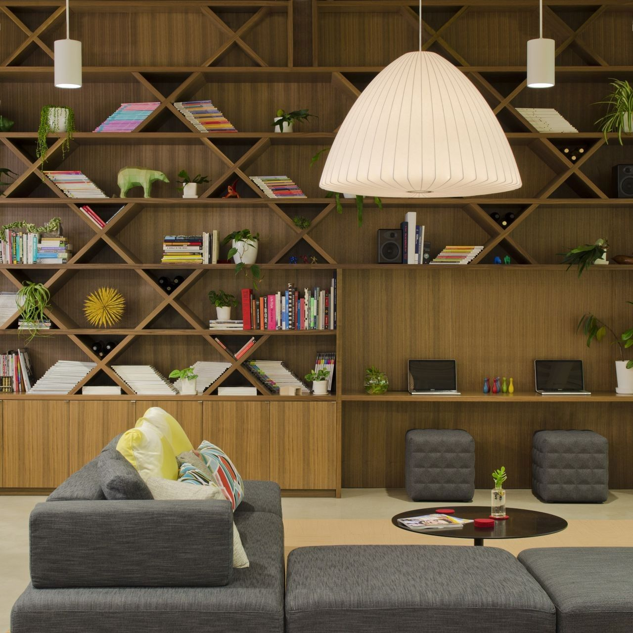 Fine project Boora Architects Home Library