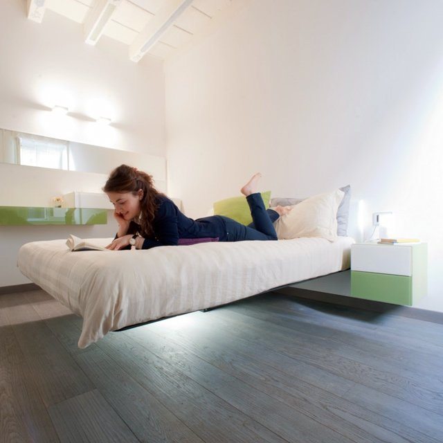 Floating Beds Prepossessing Floating Beds Elevate Your Bedroom Design To The Next Level Review