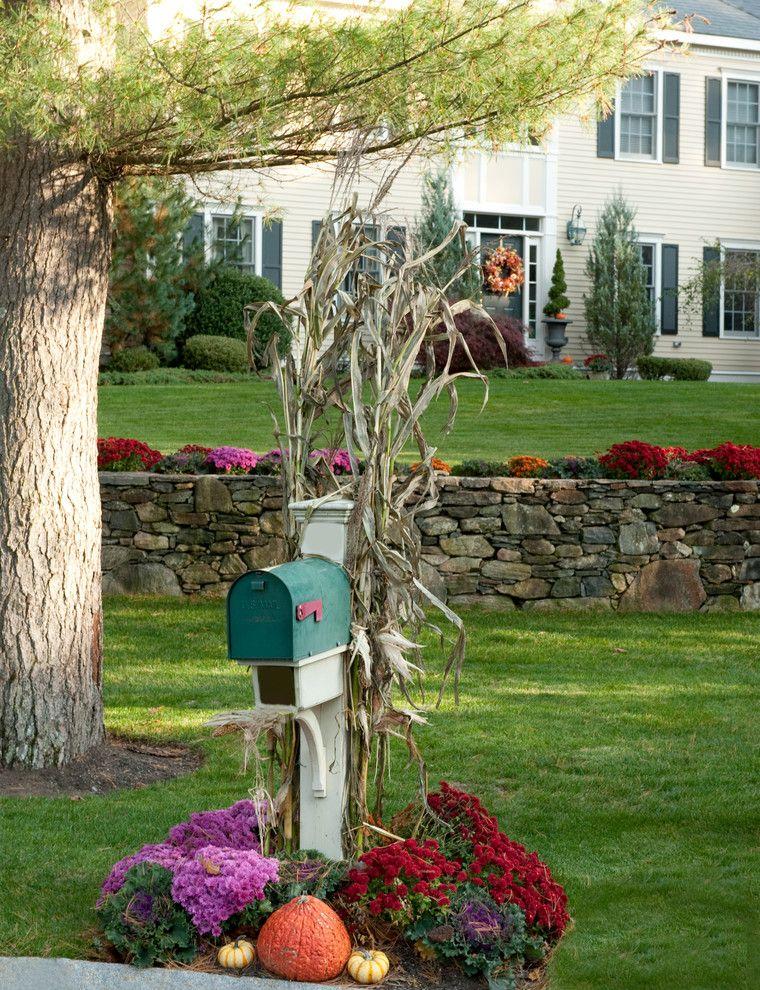 Fall Landscaping Ideas Front Yard Part - 50: Halloween Mailbox