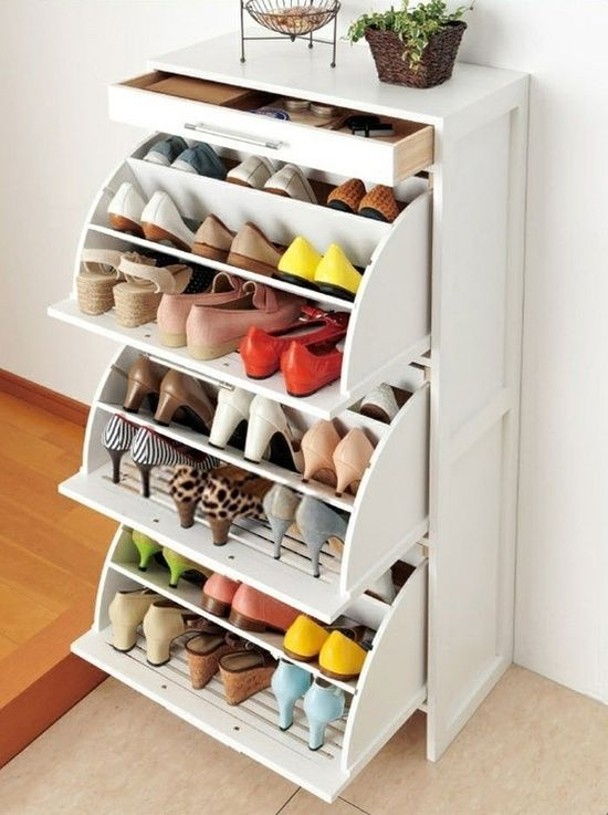 How To Use IKEA Products Build Shoe Storage Systems