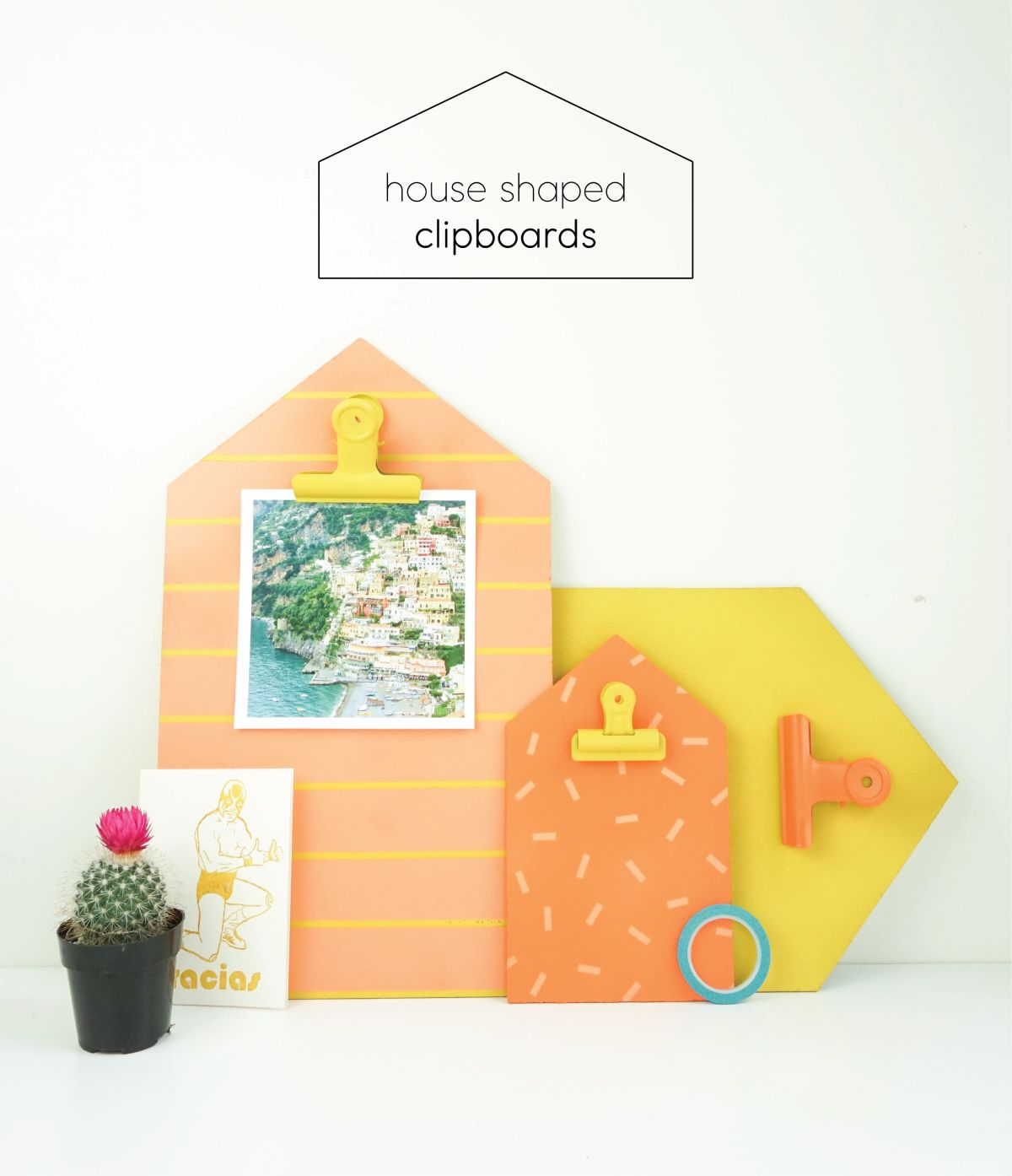 House Shaped Clipboards