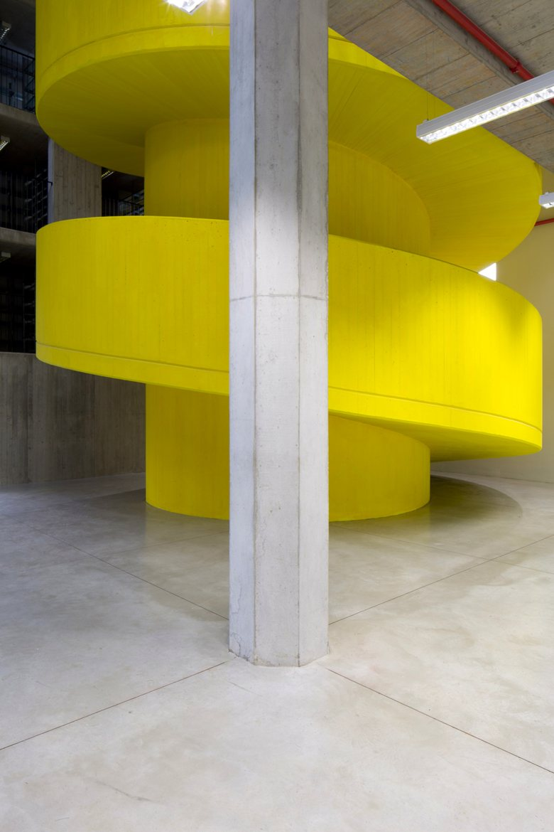 House of Memory Yellow Spiral