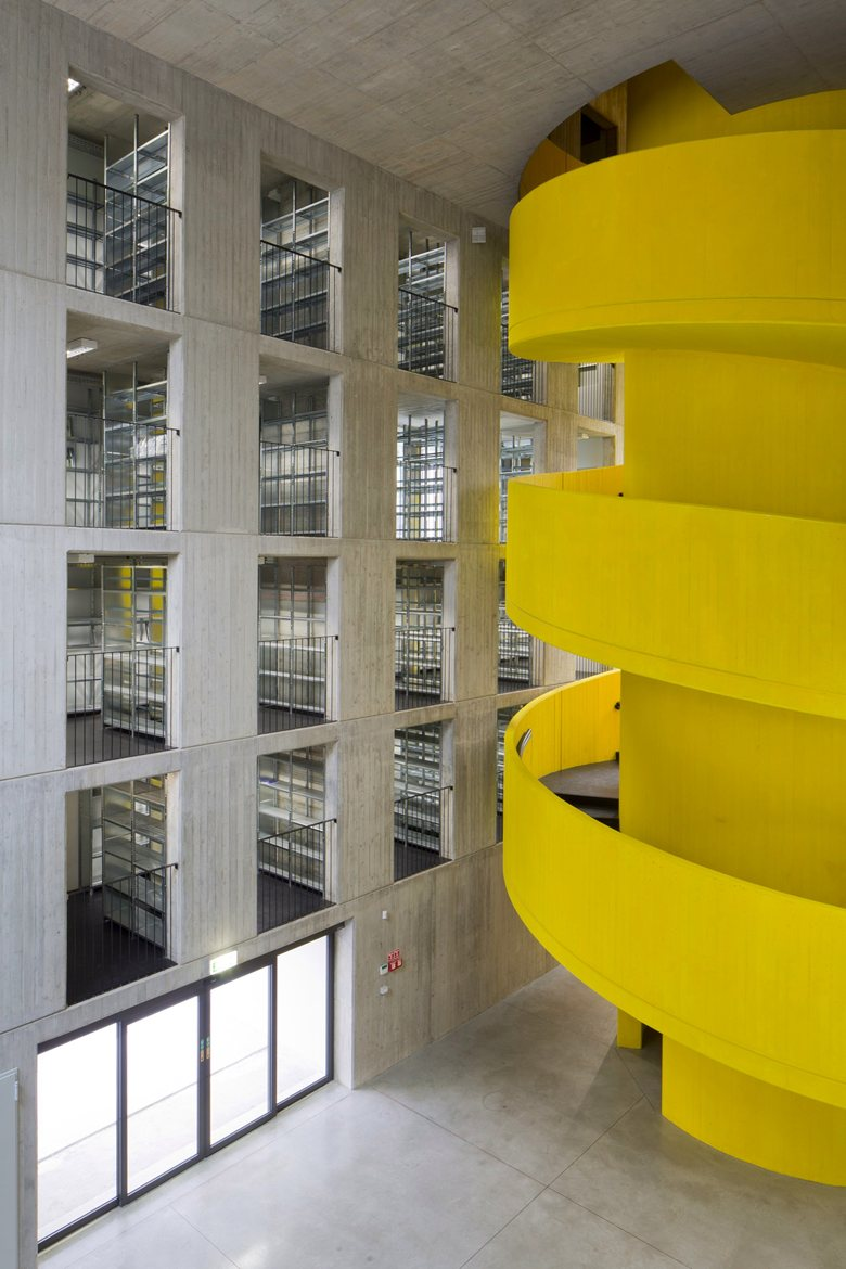 House of Memory Yellow Staircase