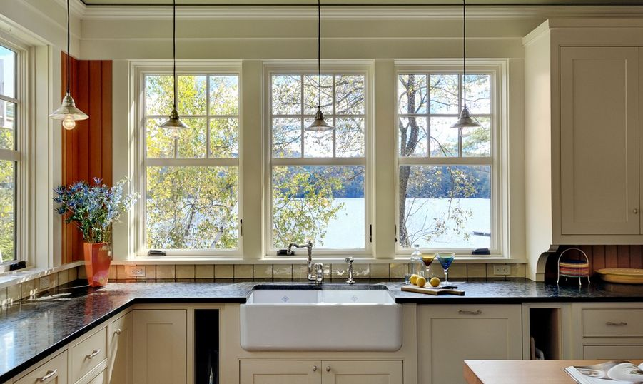 Kitchen Double Hung Windows