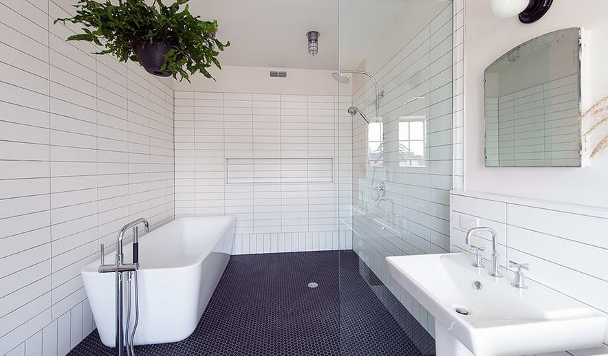Gorgeous Variations On Laying Subway Tile - Laying bathroom tile