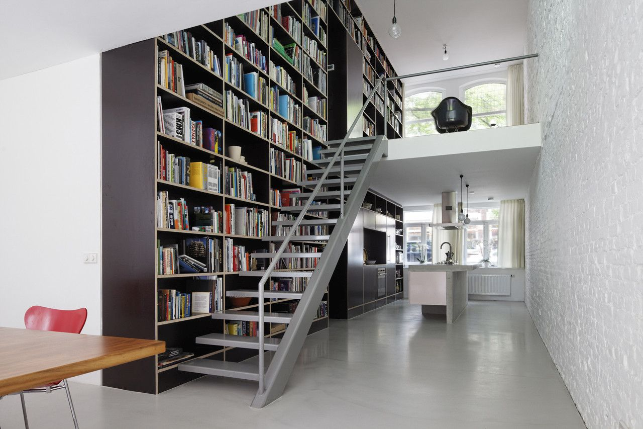 Image Result For Staircase Library Design